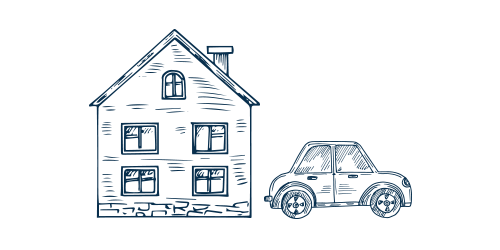 Icon of a House and Car - Delaware Insurance Agency