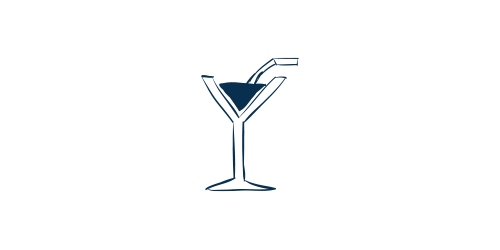 Icon of party drink