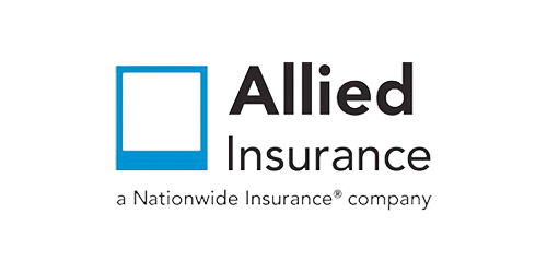 Logo for Allied Insurance company