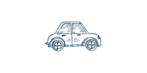 Icon of a vehicle