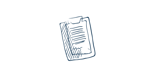 Icon of a clipboard