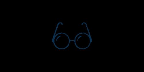 Icon of eye glasses